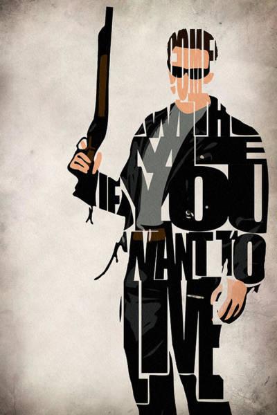 The Terminator - Arnold Schwarzenegger Poster