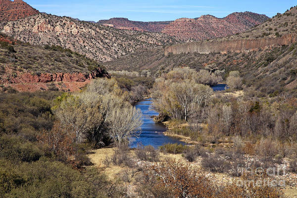 The Verde River In The Verde Canyon Arizona Poster