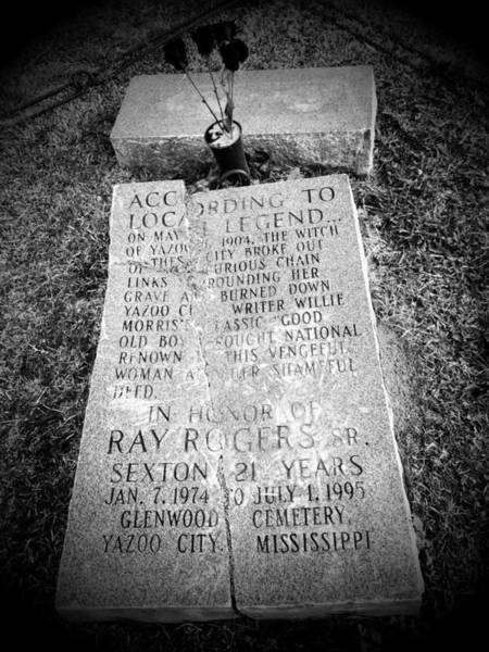 The Witche's Grave  Yazoo Citymississippi Poster