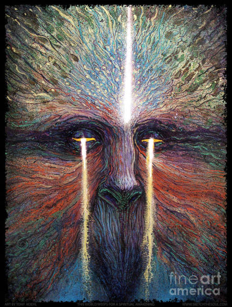 This World Weeps For A Spiritual Awakening Poster