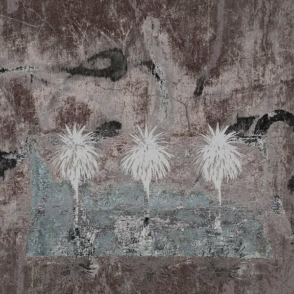 Three Palms Oasis Poster