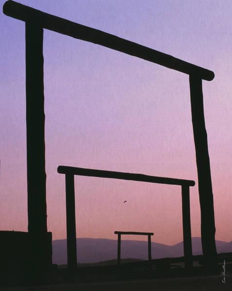 Three Ranch Gates Poster