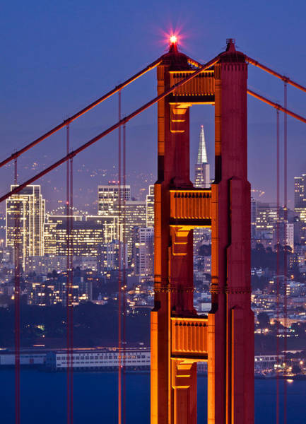 San Francisco Through The Letterbox Poster