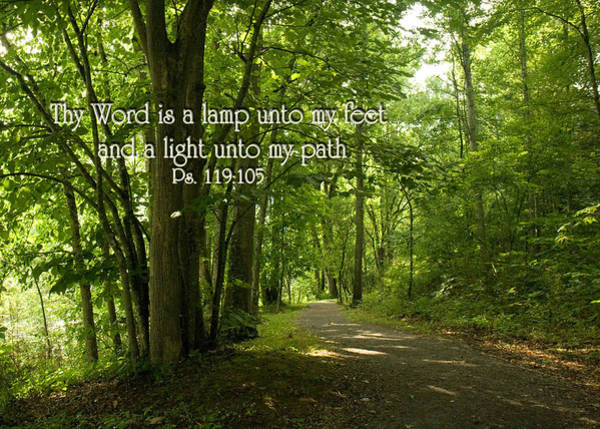 Thy Word Is A Lamp Unto My Feet Poster