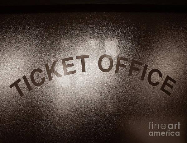 Ticket Office Window Poster