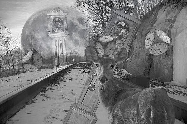 Time Is A Target Poster