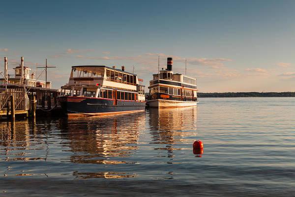 Tour Boats Lake Geneva Wi Poster