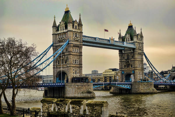Tower Bridge On The River Thames Poster