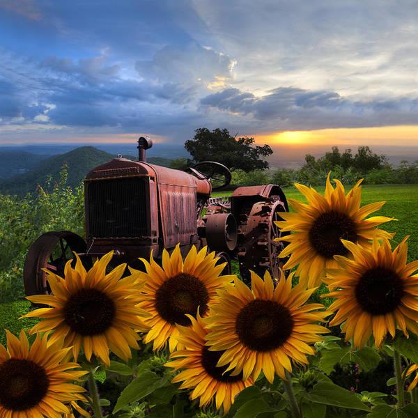 Tractor Heaven Poster