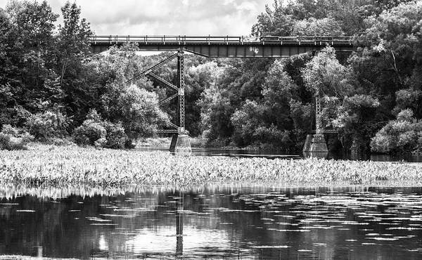 Poster featuring the photograph Train Bridge by Garvin Hunter