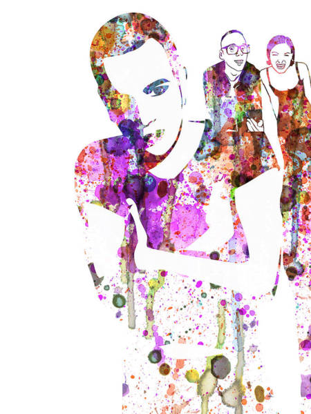 Trainspotting Watercolor Poster
