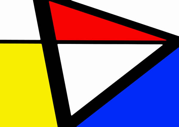 Triangularism I Poster
