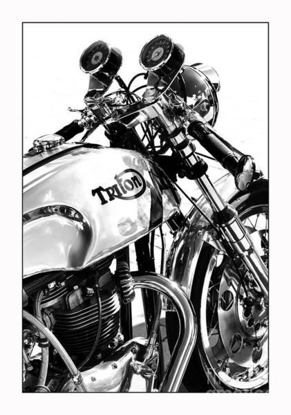 Triton Motorcycle Poster