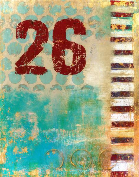 Twenty-six Stripes Poster