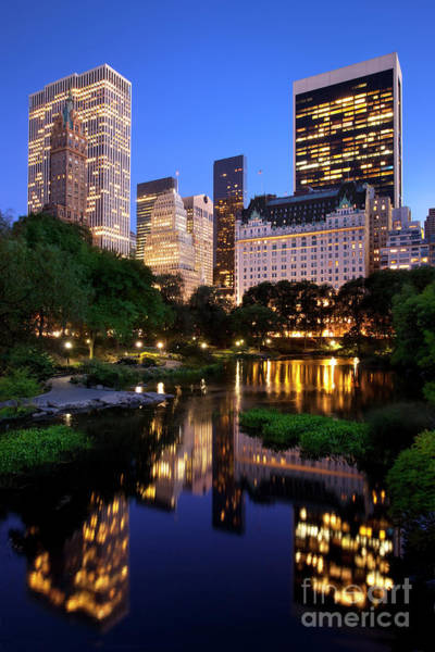 Poster featuring the photograph Twilight Nyc by Brian Jannsen