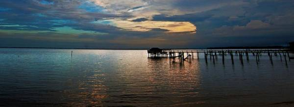 Twilight On The Neuse River Poster