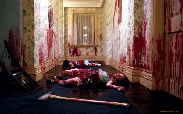 Twins Murdered @ The Shining Poster