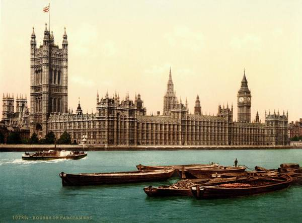 Uk Houses Of Parliament Poster