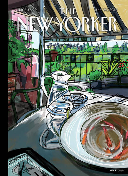 New Yorker July 30th, 2012 Poster