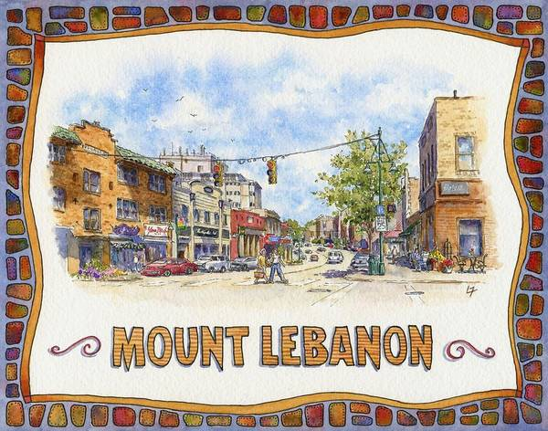 Uptown Mt. Lebanon Poster