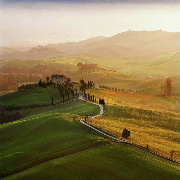 Val D\'orcia Poster