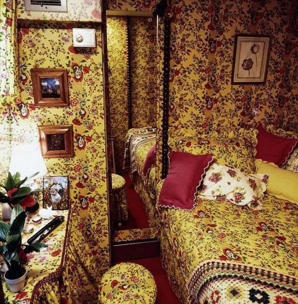 Van Gerbig's Houseboat Bedroom Poster