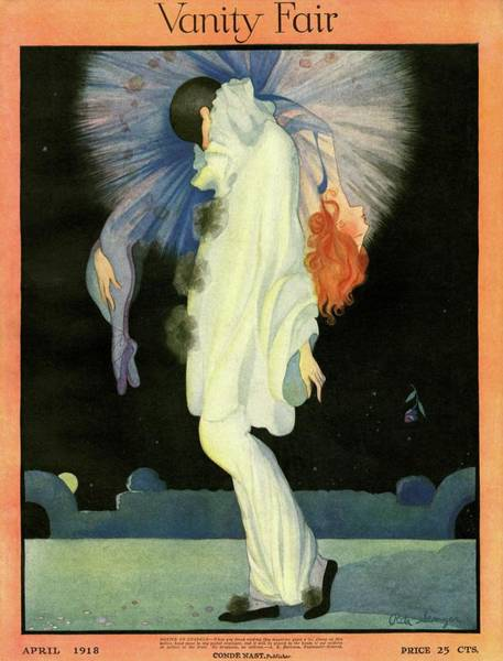 Vanity Fair Cover Featuring A Harlequin Poster