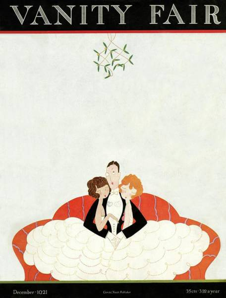 Vanity Fair Cover Featuring A Man With A Girl Poster