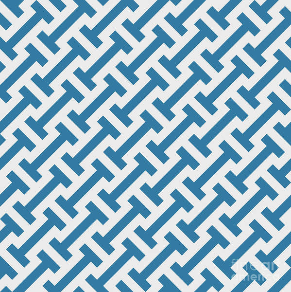 Vector Geometric Pattern. Seamless Poster