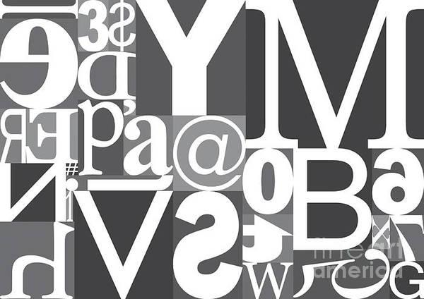 Vector Typography Blocks Poster