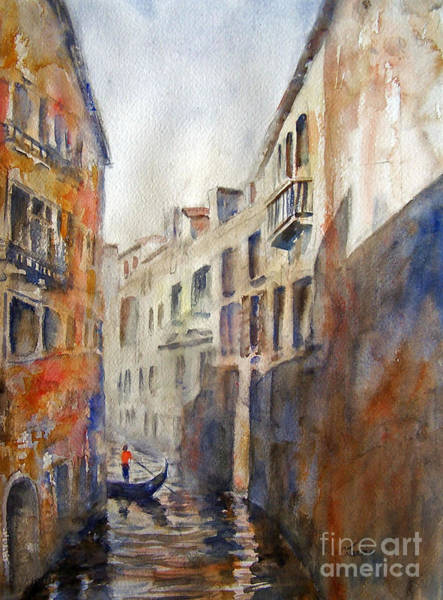 Venice Travelling Poster