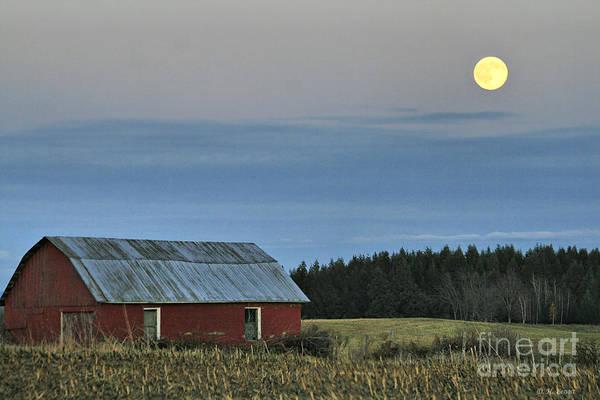 Vermont Full Moon Poster