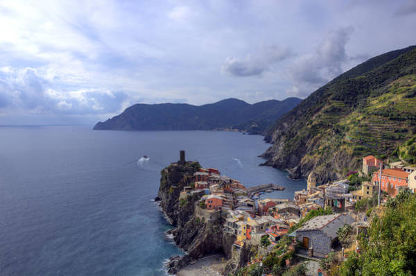 Vernazza By The Sea Poster