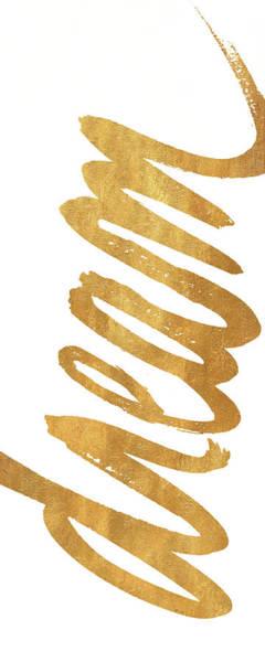 Vertical Gold Dream Poster