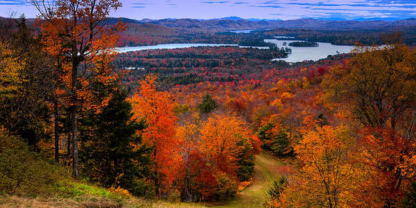 View From Mccauley Mountain II Poster
