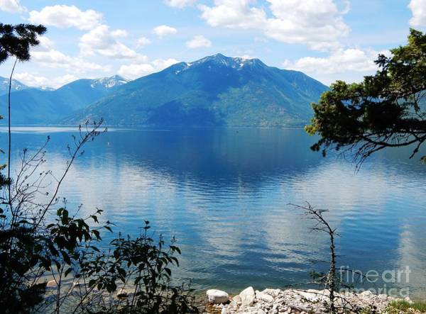 View From The Glass House British Columbia Poster