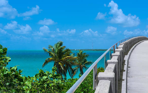 View From The Old Bahia Honda Bridge Poster