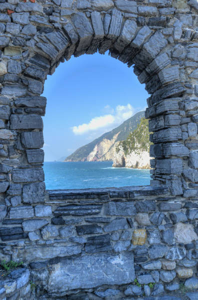 View Of Cinque Terre From Portovenere Poster
