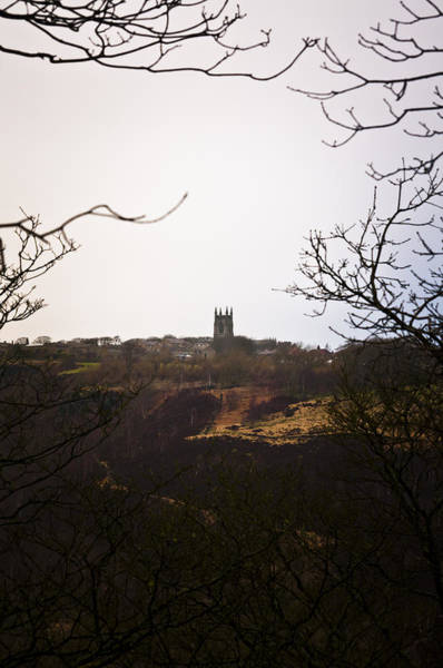 View Of Heptonstall Church Poster