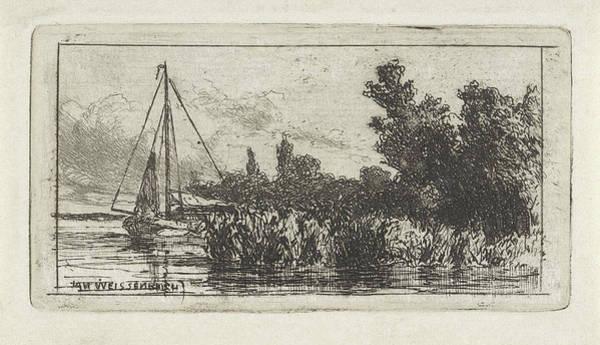 View Of Lek, The Netherlands, Jan Weissenbruch Poster