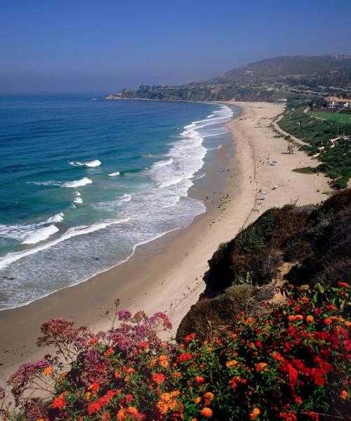 View Of Salt Creek Beach Poster