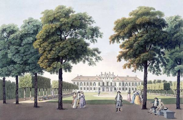 View Of The Chateau Of Pleasure Poster
