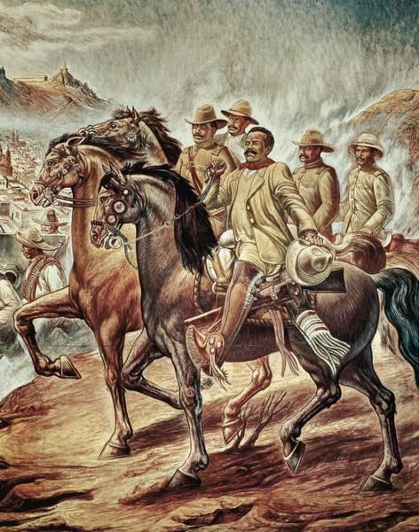 Villa, Pancho 1878-1923. Mexican Poster