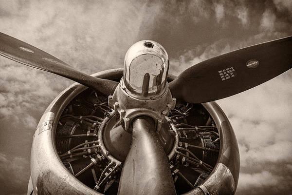 Vintage B-17 Poster