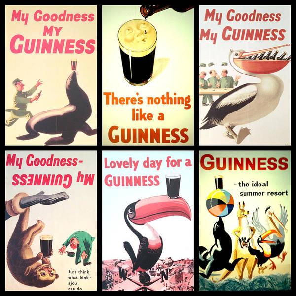 Vintage Guinness  Poster