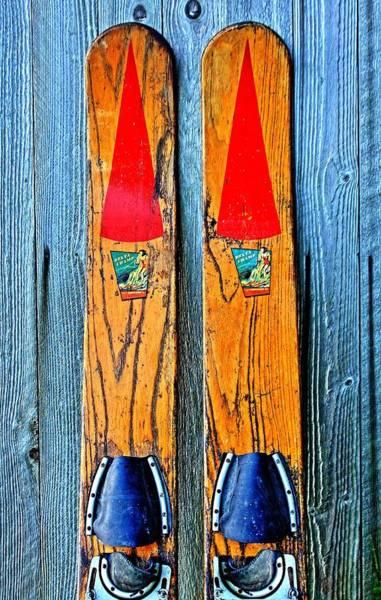 Vintage Skis Poster