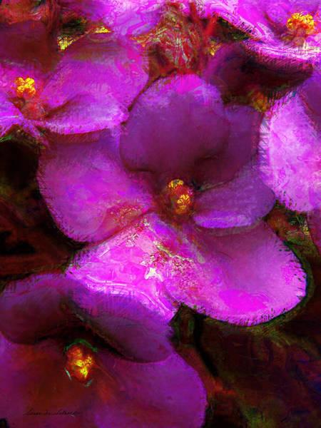 Violets No. 1 Poster