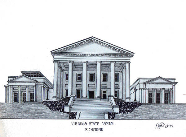 Virginia State Capitol Poster