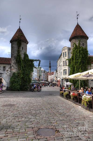 Viru Gate Tallinn Estonia Poster