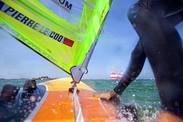 Vision Onboard Pierre Le Coq Windsurfs Poster